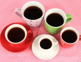 Photo: Different cups of coffee