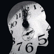 Photo: Picture of a human head with a clock inside