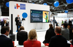 Picture: MEDICA CONNECTED HEALTHCARE FORUM in hall 15