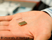 Photo: gold nanonparticules