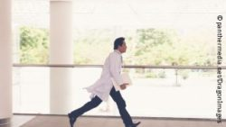 Photo: Running doctor