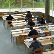 Picture: Students in a library