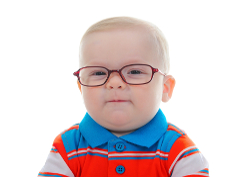 Photo: Child with glasses