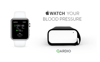 Qardio Apple Watch Blood Pressure