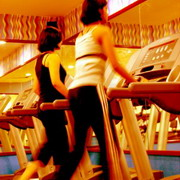 Photo: Women on a treadmill
