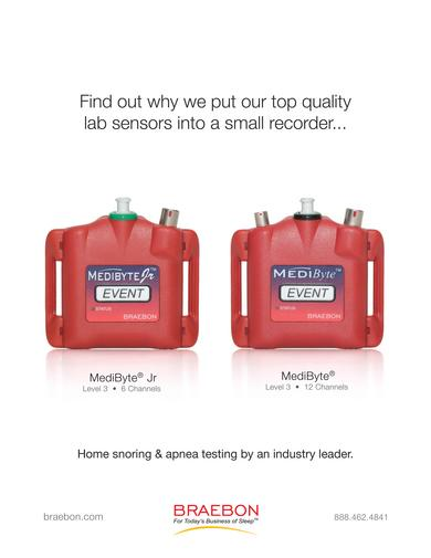 MediByte & MediByte Jr Home Sleep Apnea Recorders