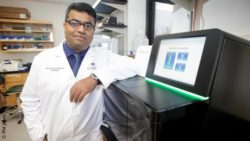 Image: Dr. Ravindra Kohle and Augusta OncoTarget; Copyright: Phil Jones / Augusta University