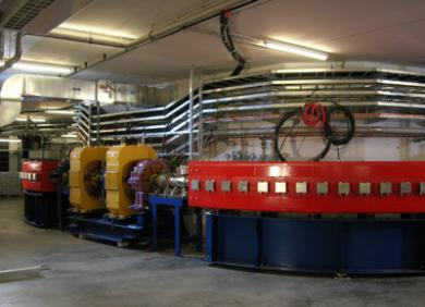 Synchrotron at the Heidelberg facility