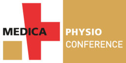 Image: logo of the MEDICA PHYSIO CONFERENCE