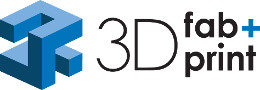Image: Logo of the 3D fab+print Additive Manufacturing Seminar at COMPAMED