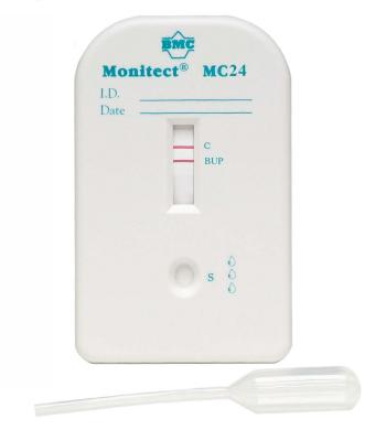 Monitect® Buprenorphine 5 ng/mL Drug Screen Cassette