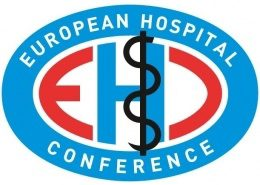 Image: logo of the EUROPEAN HOSPITAL CONFERENCE
