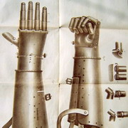 Picture: An iron hand