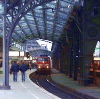 Picture: A train station