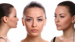 Image: three different sights of a womans head; Copyright: PantherMedia / bibacomua