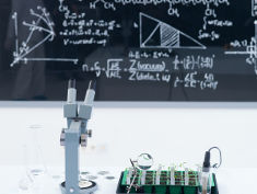 Photo: Math in the lab