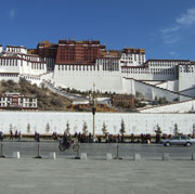 Picture: Potala Palace in Lhasa