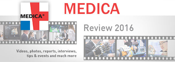 Image: Banner Review of the MEDICA 2016