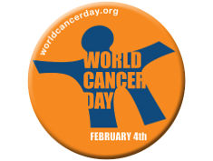 Photo: Official logo of World Cancer Day