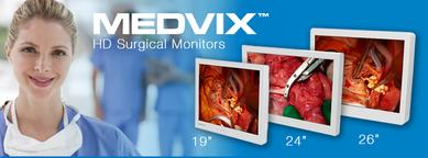 Medvix Surgical Displays - Ampronix