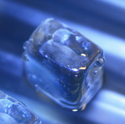 Photo: An ice cube