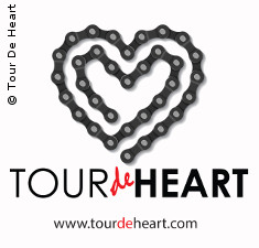 Photo: Logo of Tour de Heart