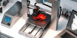 Image: A human heart is made with a 3D printer; Copyright: panthermedia.net/ekostsov