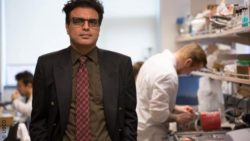 Image: Associate Professor Hadi Mohammadi at UBCO's Heart Valve Performance Lab; Copyright: UBCO