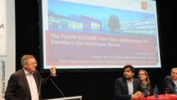 Image: Speaker at the MEDICA HEALTH IT FORUM; Copyright: Messe Düsseldorf