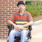 Photo: Disabled person in wheelchair