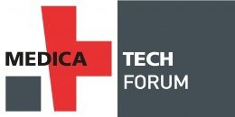 Image: logo of the MEDICA TECH FORUM
