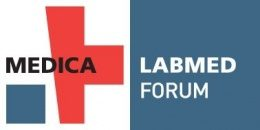 Image: logo of the MEDICA LABMED FORUM
