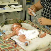 Photo: Baby in Hospital