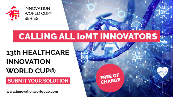 Bild: 13th Healthcare Innovation World Cup® Banner; Copyright: IWC