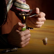 Photo: Drug Injection User