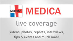 Image: Banner of MEDICA Live Coverage 2016; Copyright: Messe Düsseldorf