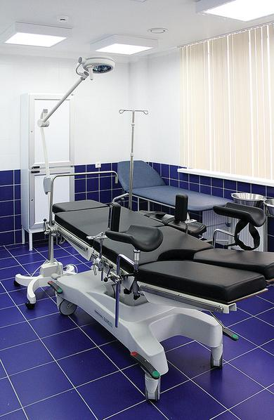 GYN examination and procedure room in Hospital No8 in Sochi