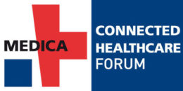 Image: Logo of MEDICA CONNECTED HEALTHCARE FORUM