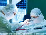 Photo: Two doctors during surgery