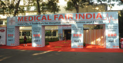Entrance area, Bombay Convention & Exhibition Centre, Mumbai