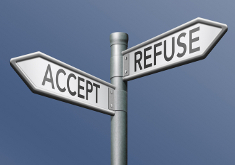 Photo: Accept or refuse