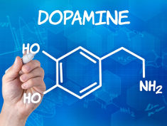 Photo: Dopamine molecule