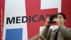 Photo: Visitor at the MEDICA