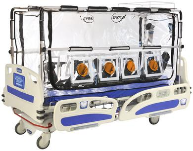 "New product at Savion Industries –""Galileo Ebola Bed"""