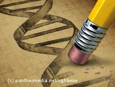 Graphic: Pencil erases a signed gene