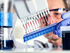 Photo: Man working in a laboratory