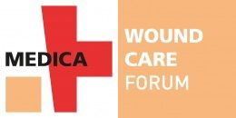Image: logo of the MEDICA WOUND CARE FORUM