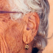 Photo: Older woman's ear