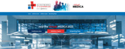 Graphic: Homepage of the virtual.MEDICA.de.