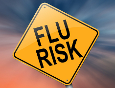 Photo: Flu risk